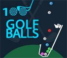 100 Golf Topu