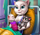 Angela İkiz Bebeklerin Doğumu