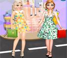 Anna ve Elsa Bahar Alışverişi
