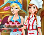 Anna ve Cinderella Tatlı Diyarı