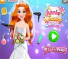 Annie Düğün Saç Stili