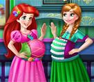 Ariel ve Anna Hamile