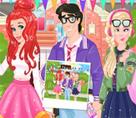 Ariel ve Eric Lise Partisinde