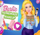 Barbie Ev Yapımı Makyaj