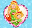 Barbie ile Minik Kızının Kıyafetleri