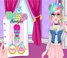 Barbie Renkli Havalı Saçlar