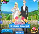 Barbie Sürpriz Evlenme Teklifi