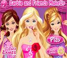 Barbie ve Arkadaşları Makyaj
