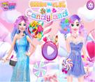 Barbie ve Elsa Şeker Diyarı