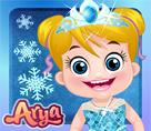 Bebek Arya Frozen Stili
