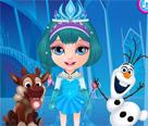 Bebek Barbie Frozen Kostümleri