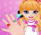 Bebek Barbie Ombre Tırnaklar