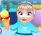 Bebek Elsa Dondurma Yapımı