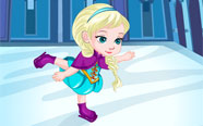 Bebek Elsa Paten Kazası