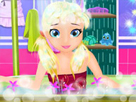 Bebek Lisa Banyo Zamanı