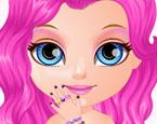 Bebek Barbie Işıltılı Ojeler