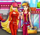Belle ve Rapunzel Tamirci