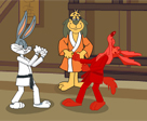 Bugs Bunny ve Coyote Karate