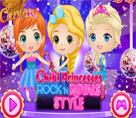Chibi Prensesler Rock N Royals