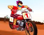 Çölde Motor Yarışı
