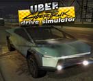 CyberTruck Taksi 3d