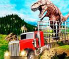 Dinozor Taşıma Kamyonu 3d