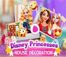 Disney Prensesleri Ev Dekorasyonu
