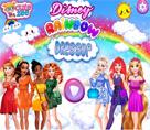 Disneyin Renkli Prensesleri