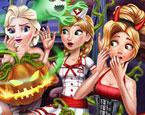 Disney Prensesleri Cadılar Bayramı