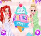 Dondurma Temalı Parti