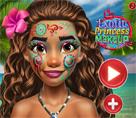 Egzotik Prenses Makyaj