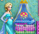 Elsa Bebek Odası Dekorasyonu