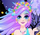 Elsa Cadılar Bayramı Makyajı