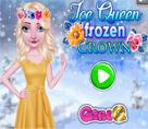 Elsa Frozen Çiçek Tacı