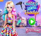 Elsa İnatçı ve Renkli Saçları