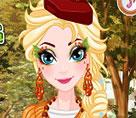 Elsa Şükran Günü Makyajı