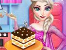 Elsa Tiramisu Yapıyor