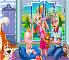 Elsa ve Ailesi Haftasonu Tatili