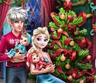 Elsa ve Ailesi Yeniyıl Kutlaması
