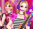 Elsa ve Anna Müzik Keyfi