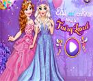 Elsa ve Anna Peri Partisinde