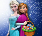 Elsa ve Anna Yumurta Boyama