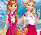 Elsa ve Anna'nın Yumurta Eğlencesi