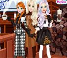 Elsa ve Arkadaşları Kış Günü