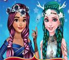 Elsa ve Moana Saç Modelleri