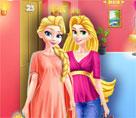 Elsa ve Rapunzel Elbise Dolapları
