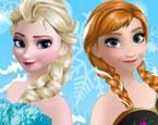 Elsa ve Anna Balo Makyajı