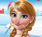 Frozen Prensesi Anna Makyaj