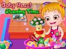 Hazel Bebek Temizlik Zamanı