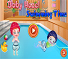 Hazel Bebek Yüzme Keyfi